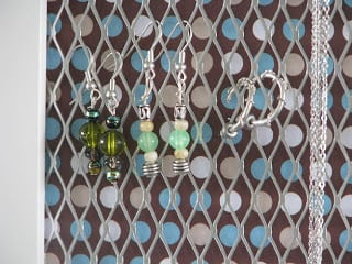 picture frame earring holder