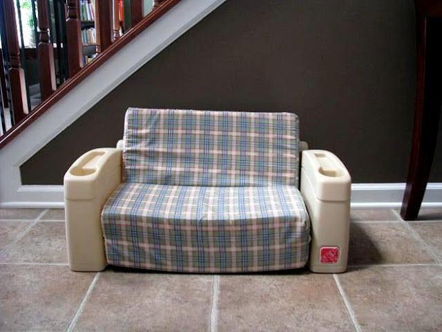 vintage step2 kids sofa