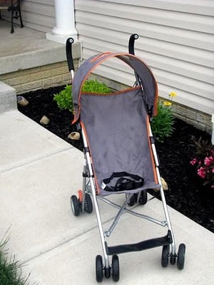 umbrella stroller makeover
