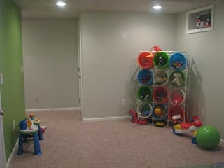 pvc pipe toy storage