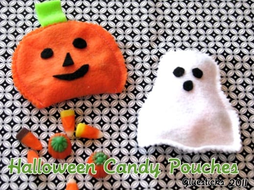 halloween candy pouches