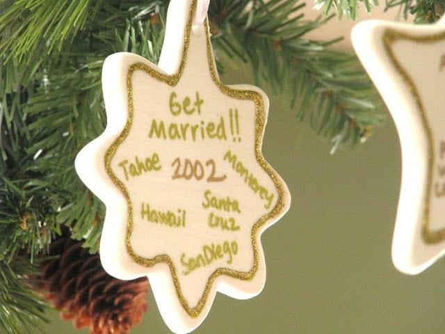 2002 personalized ceramic ornament