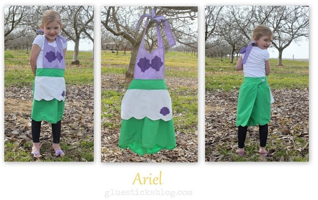 Ariel Princess Apron Pattern
