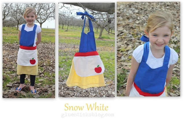 Snow White Apron Pattern