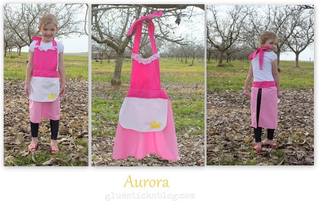 Aurora Princess Apron Pattern