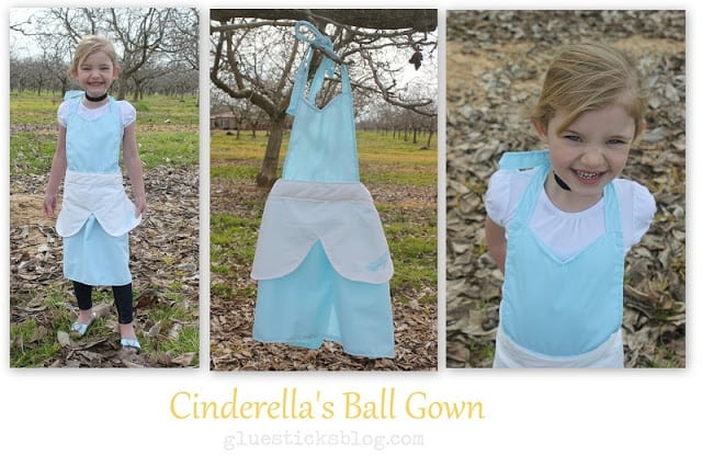 Cinderella Ball Gown Apron Pattern