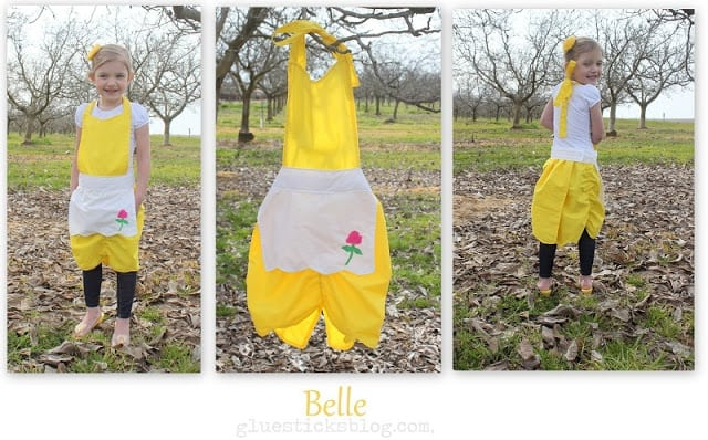 Belle Princess Apron Pattern
