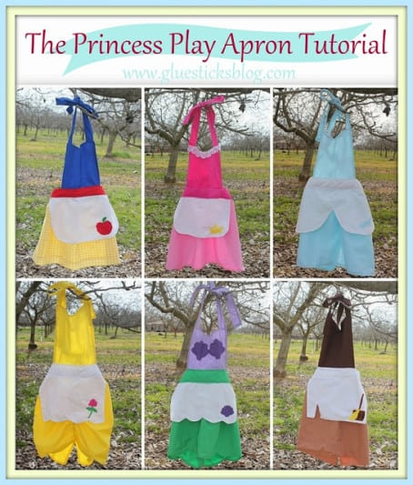 6 in 1 Princess Apron Tutorial