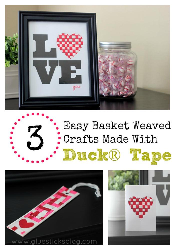 duct tape valentine crafts