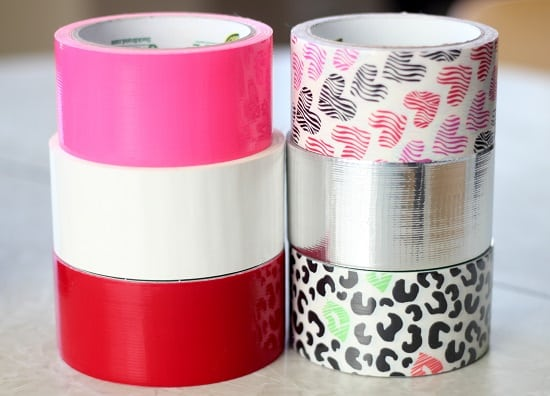 6 rolls of duct tape