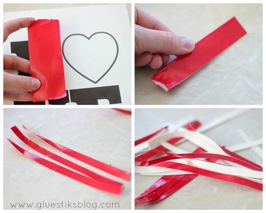 folded duct tape