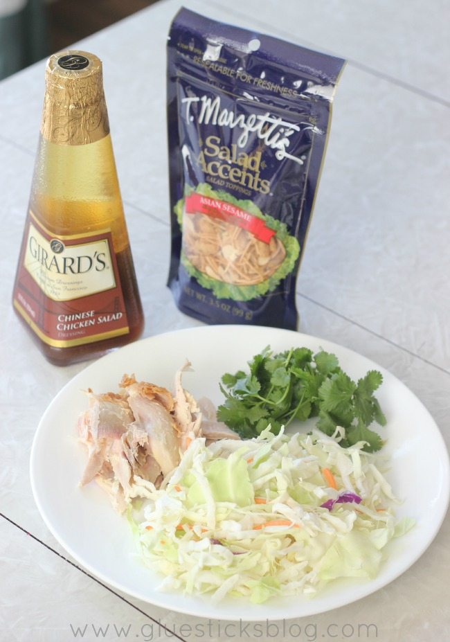 Chinese chicken salad without dressing