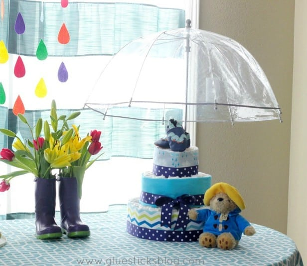 April Showers Baby Shower Theme