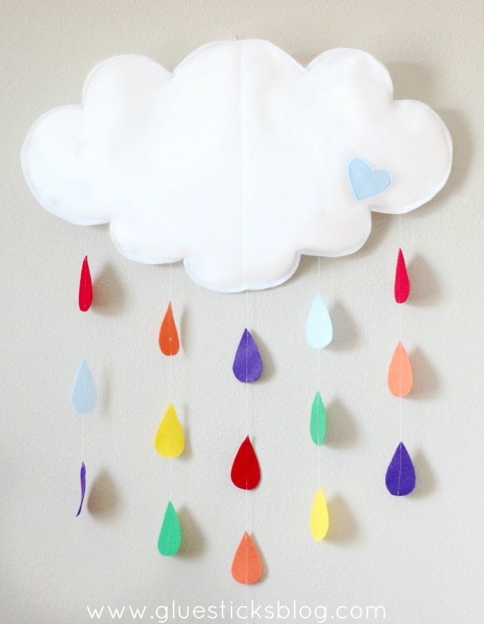 Baby Shower Cloud Mobile