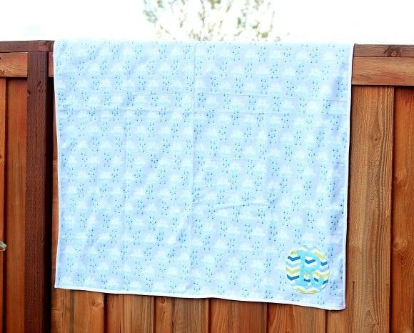 Baby Shower Gift Idea Homemade Blanket