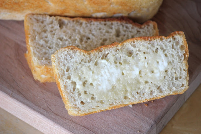 slices of English muffin bread