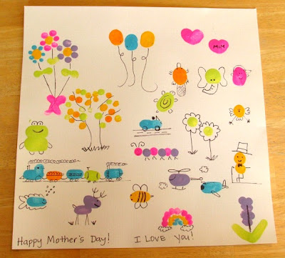 thumbprint art ideas for kids