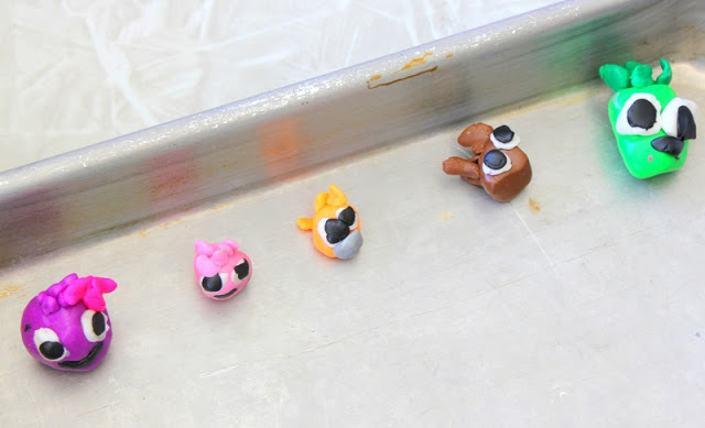 small polymer characters