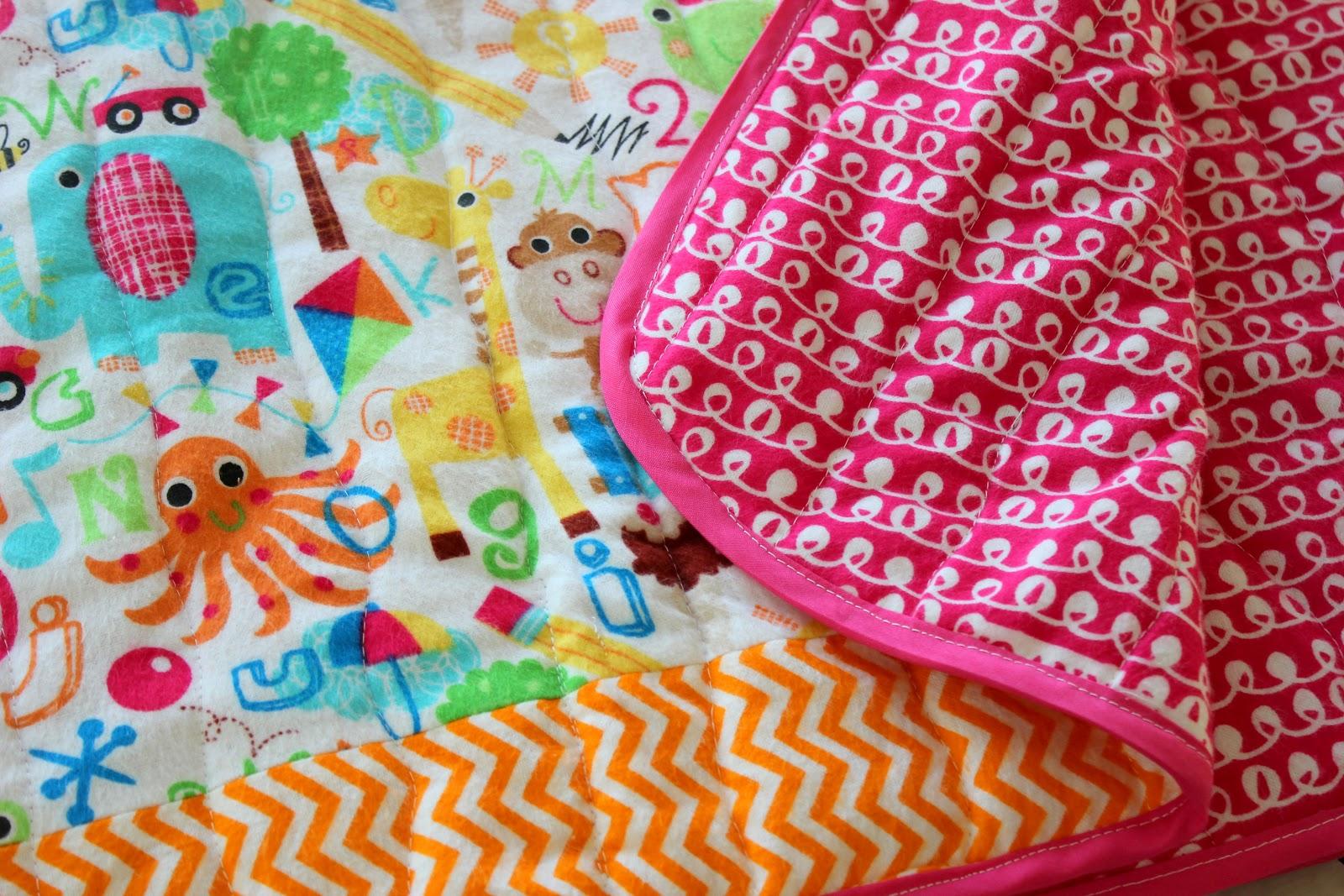 Quick and easy baby quilt gluesticks baditri Choice Image