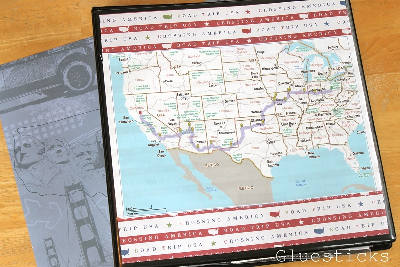 Road Trip Binder For Kids Road Trip Games Map Activities And More