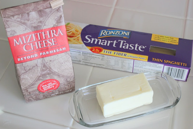 pasta cheese and butter