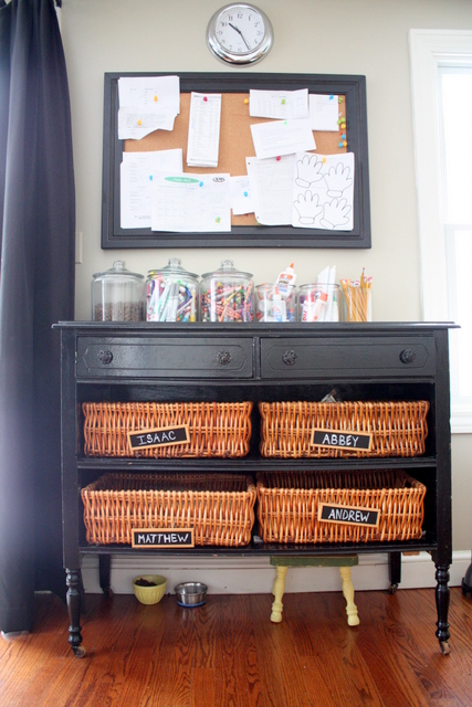 baskets for kids to take upstairs