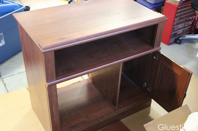 old entertainment stand