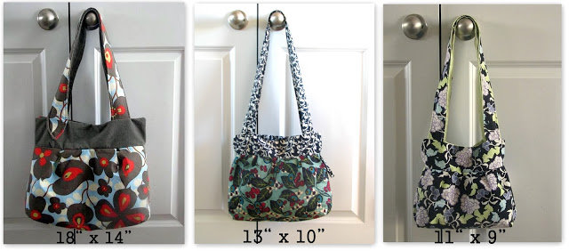wasp bag in 3 sizes and prints