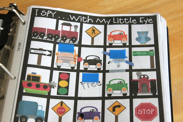 Road Trip Binders for Kids www.gluesticksblog.com