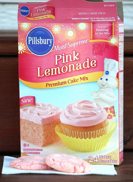 pink lemonade cake mix