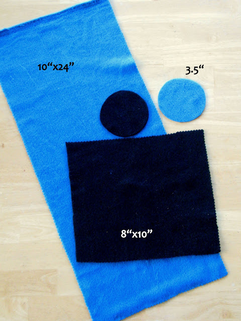 fleece cutting guide for pillow