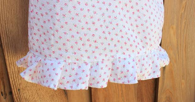 nightgown for girls ruffle