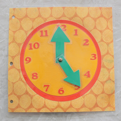 clock busy book page
