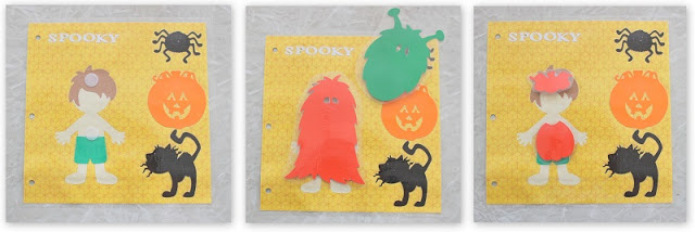 halloween busy book page