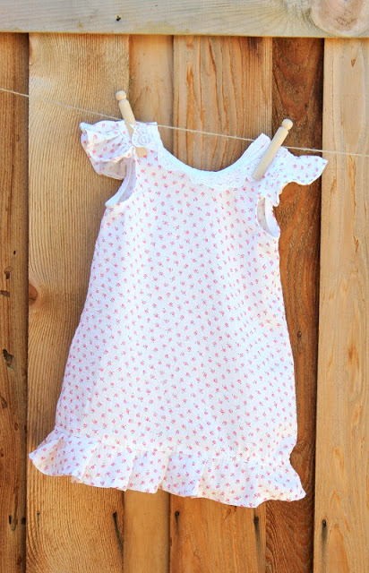 pretty nightgowns for girls