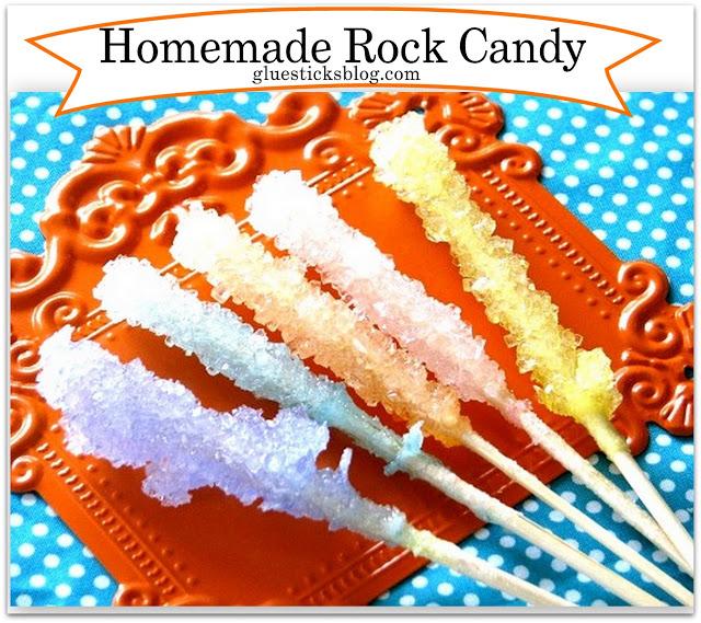 Homemade Rock Candy gluesticksblog.com