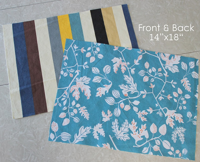 This placemat tutorial will teach you how to make a set of reversible placemats in under 30 minutes! Homemade placemats are incredible easy to make. They are a perfect beginning sewing project and make a great gift.