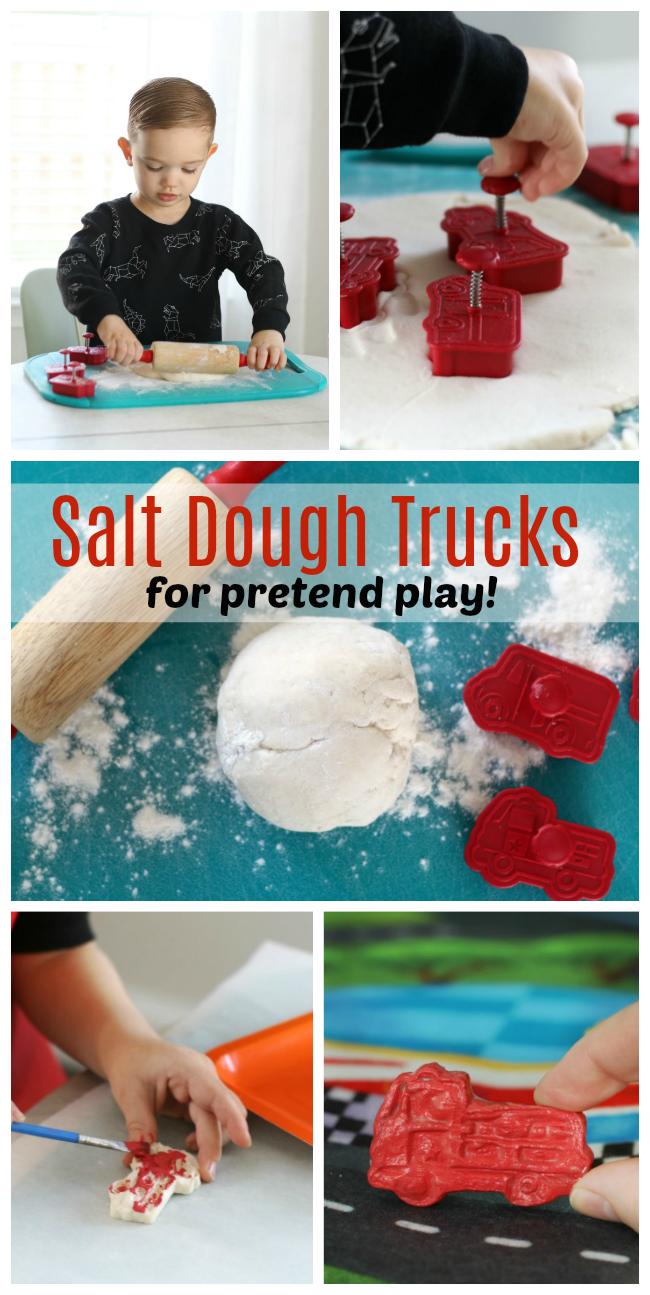 microwave salt dough