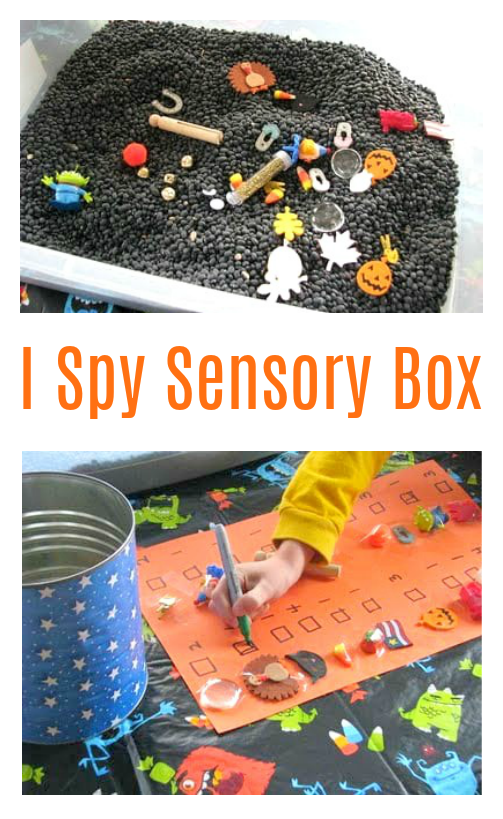 i spy box for sensory play