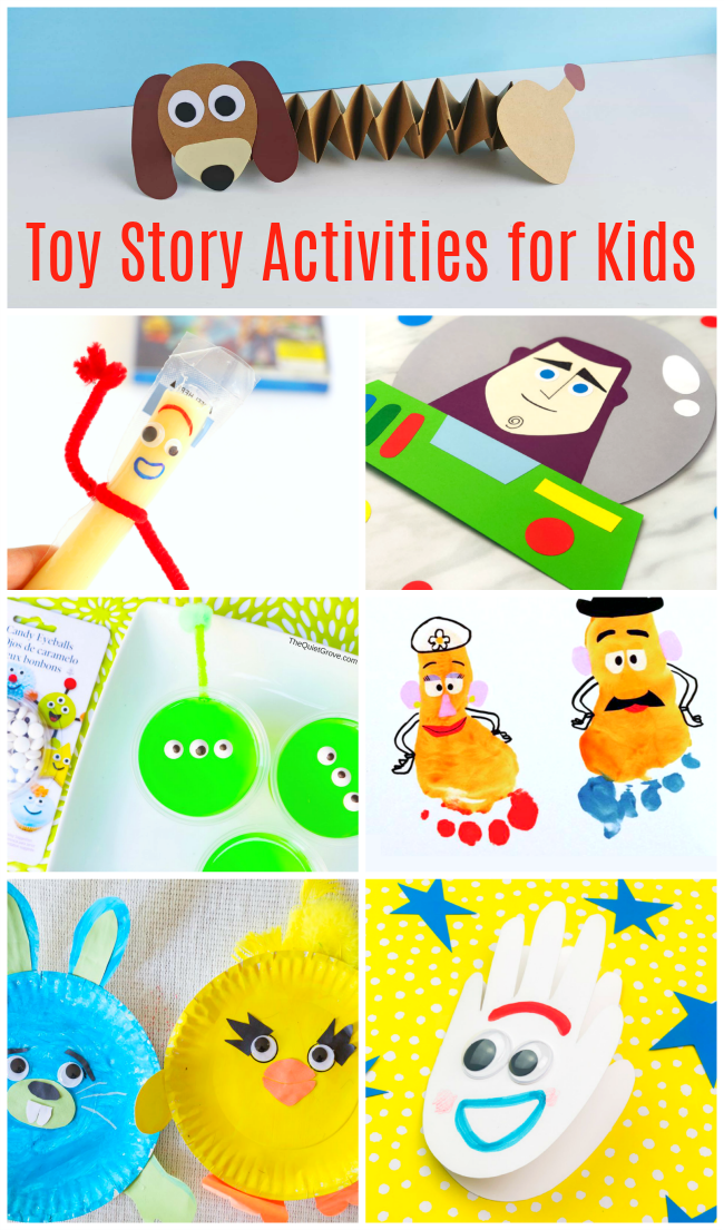 toy story activities