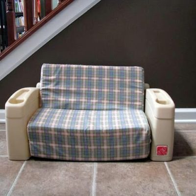vintage step2 child sofa