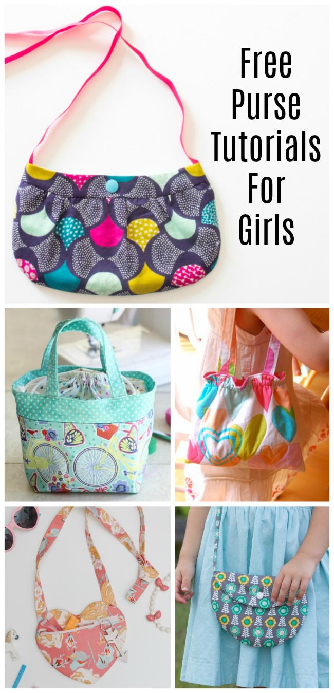girls purse tutorials