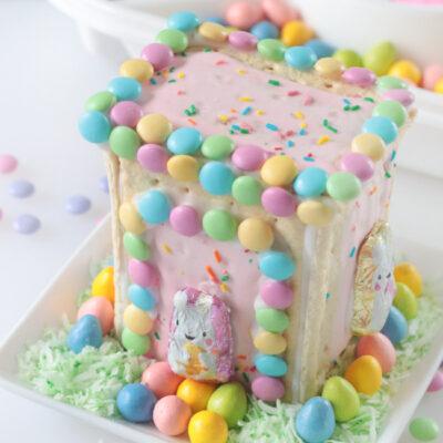pop tart bunny house centerpiece