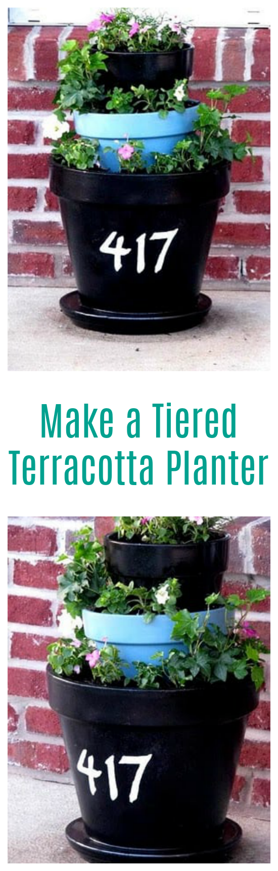 terracotta planter for spring