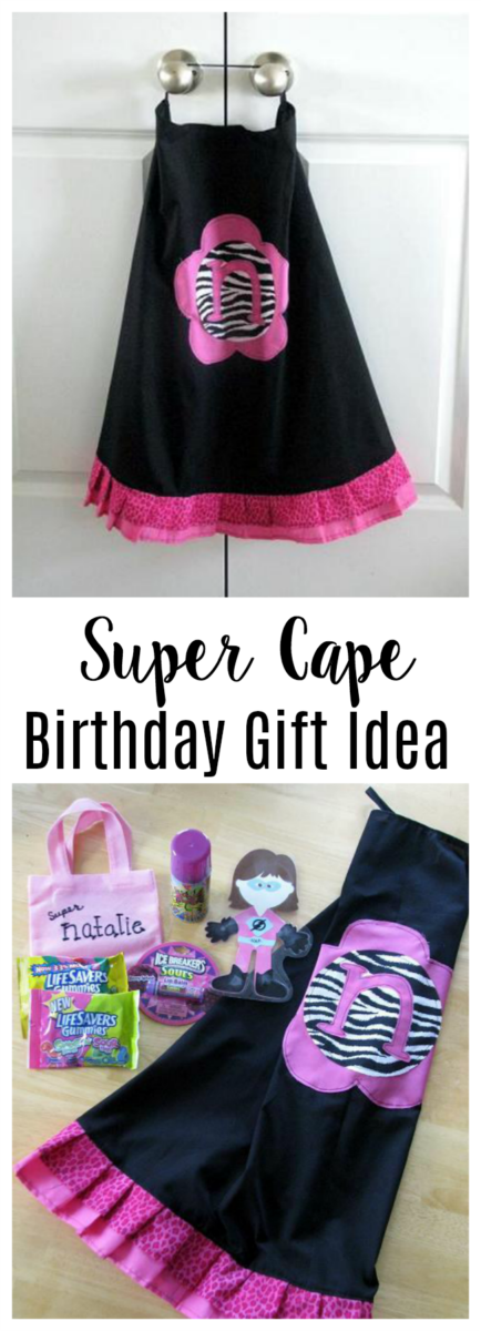 super cape birthday gift idea