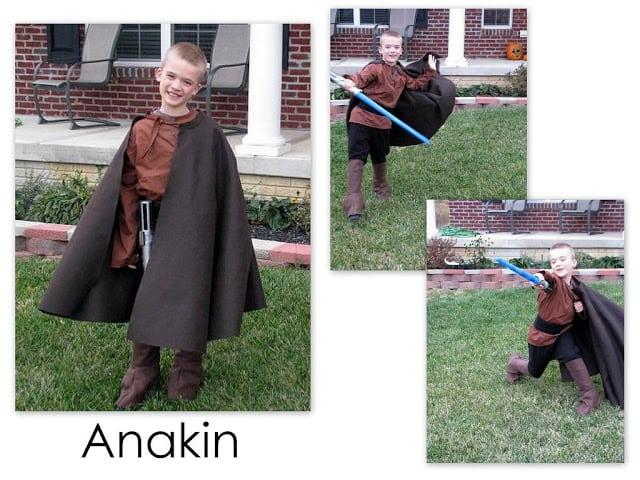 homemade anakin costume