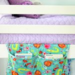 hanging bunk bed book caddy