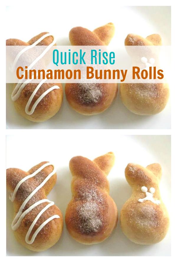 cinnamon bunny rolls