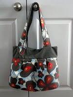 floral wasp handbag