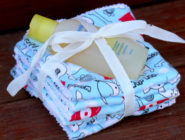baby wash cloth tutorial